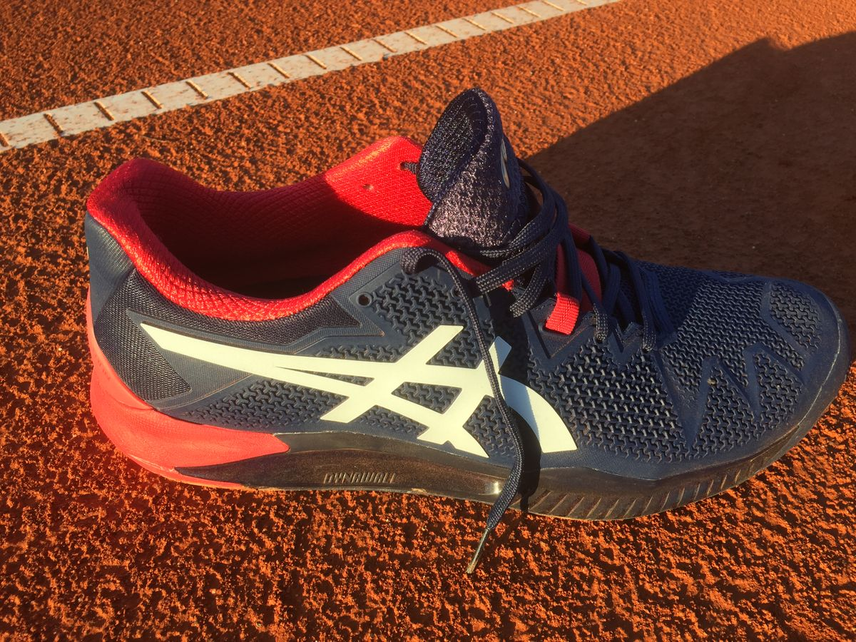 Tennisschuh Test 2020 Asics Gel Resolution 8
