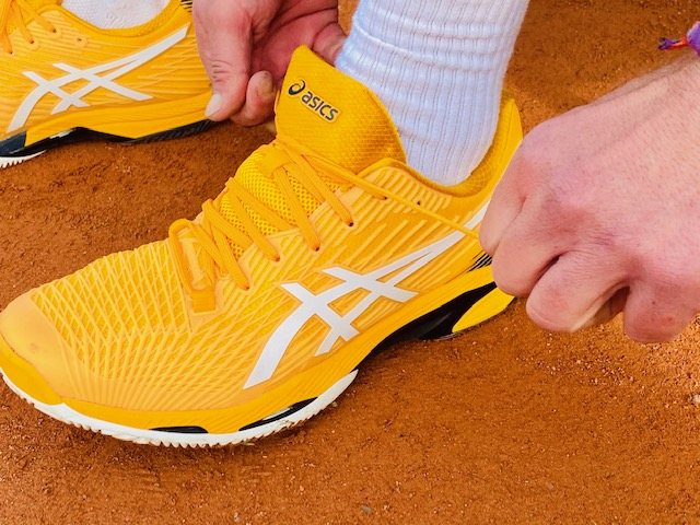 Asics Spped Solution FF 2 Tennisschuh Test
